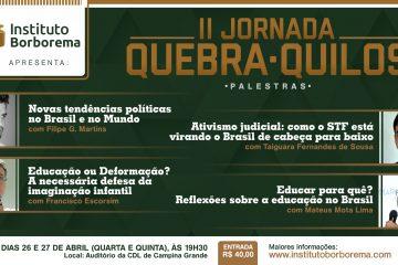 Banner - II Jornada Quebra-Quilos